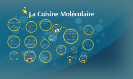 La cuisine moléculaire