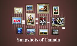 Snapshots Of Canada