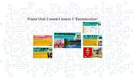Prime Unit 3 week 4 lesson 5