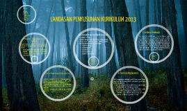 LANDASAN PENYUSUNAN KURIKULUM 2013