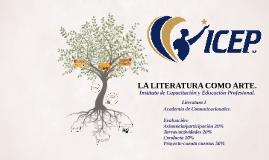 LA LITERATURA COMO ARTE. 1ray2dasesión.