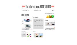 FOOD TABLETS