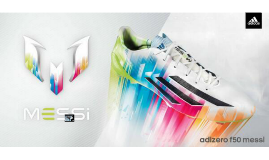 Advertising! Adizero f50 Messi