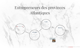 Entrepreneurs des provinces Atlantiques