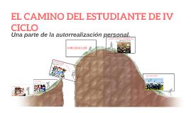 EL CAMINO DEL ESTUDIANTE