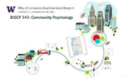 BISCP 343: Intro to Community Psychology
