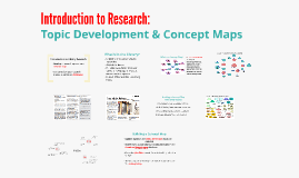 Topic Development & Concept Maps (AE1)