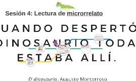 Sesión 4: Lectura de microrrelato