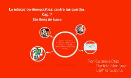 Copy of La educación democrática, contra las cuerdas.
