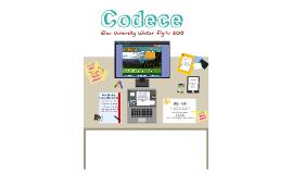 Codece Winter Fly-In  Presentation