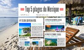 Top 5 plages du Mexique