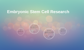 embryonic stem cell research thesis