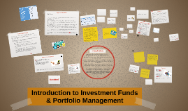 Introduction to Investment Funds & Portfolio Management