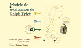 Modelo de evaluación de Ralph Tyler