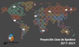 Proyección de inversión LICEO DE APODACA