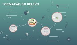 FORMAÇÃO DO RELEVO