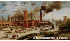 Industrialisierung in Europa