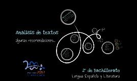 Copy of Análisis de texto - 2º Bachillerato