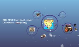 2016 Emerging Leaders Conference - Hong Kong