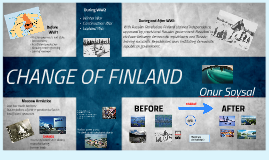 CHANGE OF FINLAND