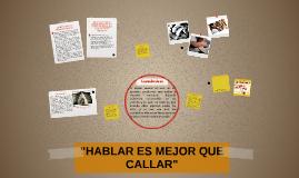 """Copy of """"ABUSO SEXUAL"""":HABLAR ES MEJOR QUE CALLAR"""