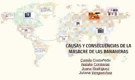 Copy of CAUSAS Y CONSECUENCIAS DE LA MASACRE DE LAS BANANERAS