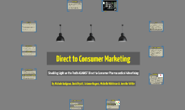 Direct to Consumer Marketing