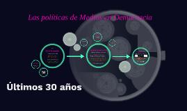 Las politicas de Medios en Democracia