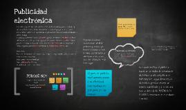 Copy of Publicidad electronica