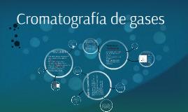 Cromatografìa de gases