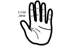 1 List Jana