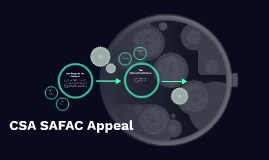 CSA SAFAC Appeal