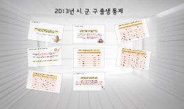 2013년 출생 통계 (시. 군. 구)