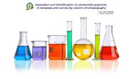 Column chromatography of Carotenoids