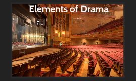 Copy of Copy of Elements of Drama
