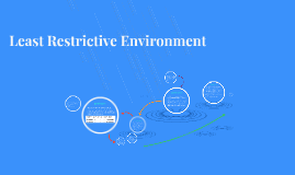 Least Restricted Environment