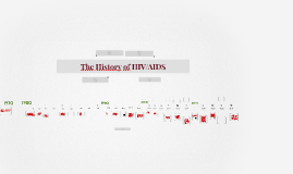 The History of HIV/AIDS Timeline