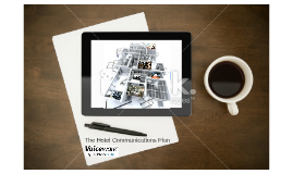 The Hotel Communications Plan - Moch Up