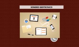 SONDEO GEOTECNICO