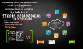 Teoría psicosocial