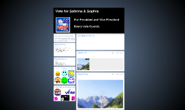 Vote for Sabrina and Sophia
