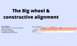 Big wheel and constructive alignment