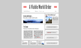 Copy of Viable World Order