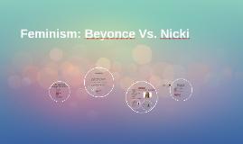 Feminism: Beyonce Vs. Nicki