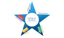 Collège de Bourbon - rentrée 2017