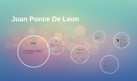 Copy of Copy of Juan Ponce De Leon