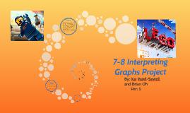 7-8 Interpreting Graphs Project