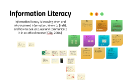 JC Information Literacy 2018