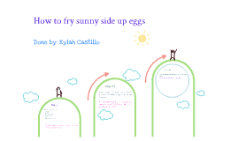 How to fry sunnyside up eggs