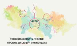 Workshop Wednesdays: DV/IVP in LGBTQ* Communities